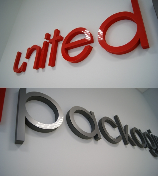 The three-dimensional sign with the name of your company? With us it is possible. Letters spatial dimension that we will become a symbol to your company.
